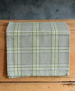 Mirage Grey Plaid Kitchen Towel