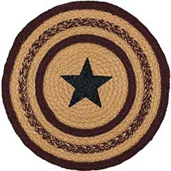 Potomac Round Braided Placemat