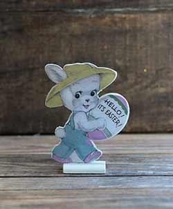 Vintage Easter Dummy Board - Bunny