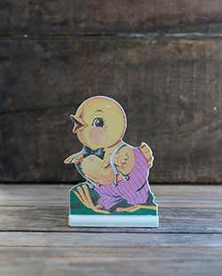Vintage Easter Dummy Board - Chick