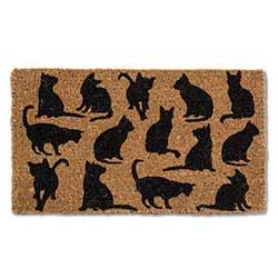 Cat Silhouette Doormat (CLONE)