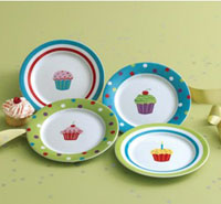 Cupcake Appetizer Plate