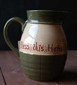 Home Sweet Home Dinnerware - Pitcher