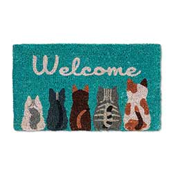 Cat Welcome Doormat