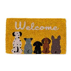 Dog Welcome Doormat