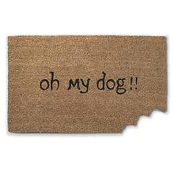 Oh My Dog Doormat