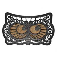 Owl Face Doormat