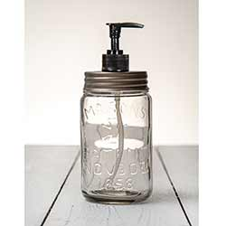 Pint Mason Jar Soap/Lotion Dispenser with Zinc Lid