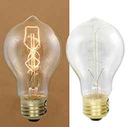Pear Edison Light Bulb