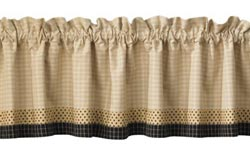 Peppermill Lined Border Valance