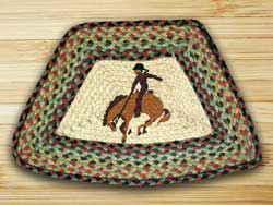 Bronco Braided Jute Geo Placemat