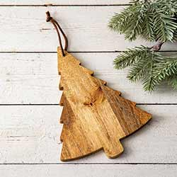 Pine Tree Decorative Wooden Board