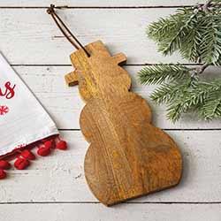 Snowman Decorative Wooden Board
