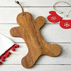 Gingrebread Decorative Wooden Board