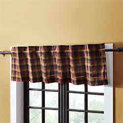 Heritage Farms Primitive Check 60 inch Valance