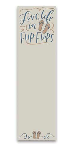 Flip Flops List Notepad