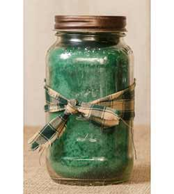 Apple Spice Mason Jar Candle -  25 oz