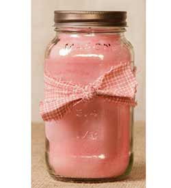 Fresh Cotton Mason Jar Candle - 25 oz