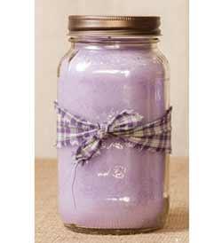 Lilac Mason Jar Candle - 25 oz