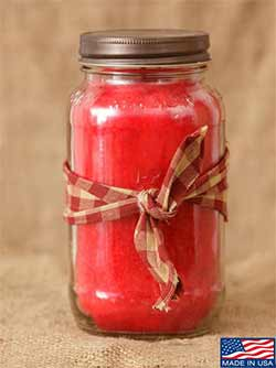 Hollyberry Mason Jar Candle - 25 oz
