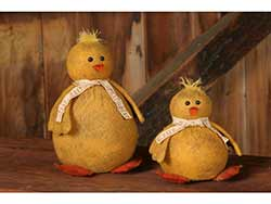 Primitive Chubby Chicks (Set of 2)
