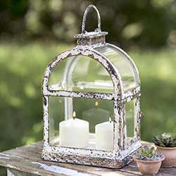 Arched Windowpane Lantern