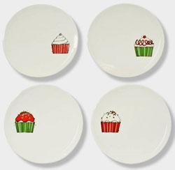 Cupcake Dessert Plate