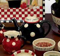 Family Table Dinnerware - Teapot
