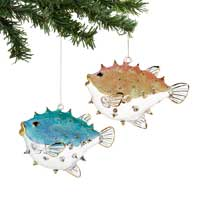 Pufferfish Ornament