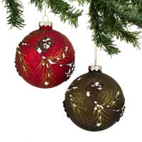 Enesco-Dept 56 Pinecone Ball Ornament