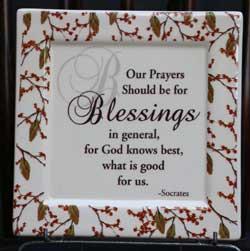 K&K Blessings Ceramic Tile