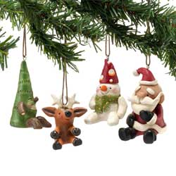 Pumpkinseeds Mini Christmas Ornament