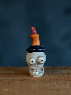 Halloween Miniature – Skull