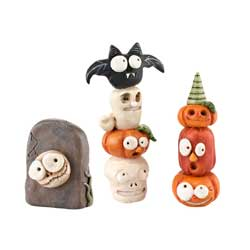 Enesco-Dept 56 Halloween Totem