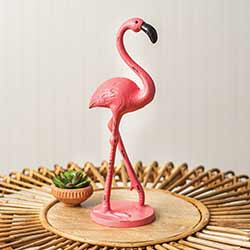 Colonial Tin Works (CTW Home Collection) Flamingo Cast Iron Figurine