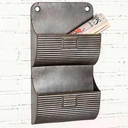 Corrugated Double Wall Pocket with Nameplates