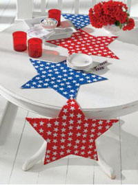 TAG Mystic Stars Tablerunner (or Placemats)
