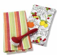 Citrus Kitchen Dishtowel