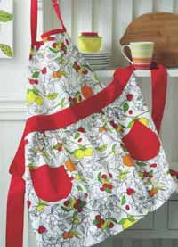 Citrus Kitchen Apron