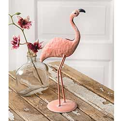 Flamingo Metal Figurine