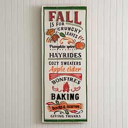 Fall Fun Wall Sign