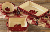 Apple Jack Dinnerware - Rectangle Baker