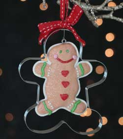 Gingerbread Cookie Cutter Ornament
