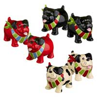 Dog Salt and Pepper Shaker Set