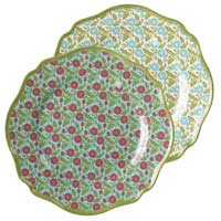 Outdoor Gatherings Melamine Appetizer Plate