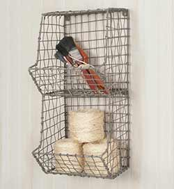 General Store Wire Wall Cubbies - Mini