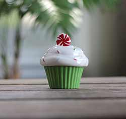 Holiday Soiree Cupcake Box with Candle