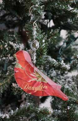 Daughter Collage Ornament
