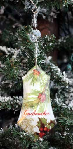 Godmother Collage Ornament