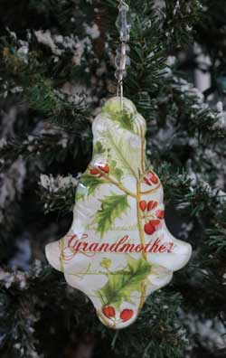 Grandmother Collage Ornament